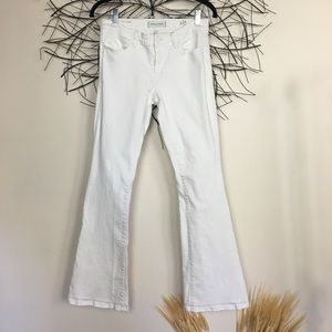 White LILA FLARE by Henry & belle. Size 28